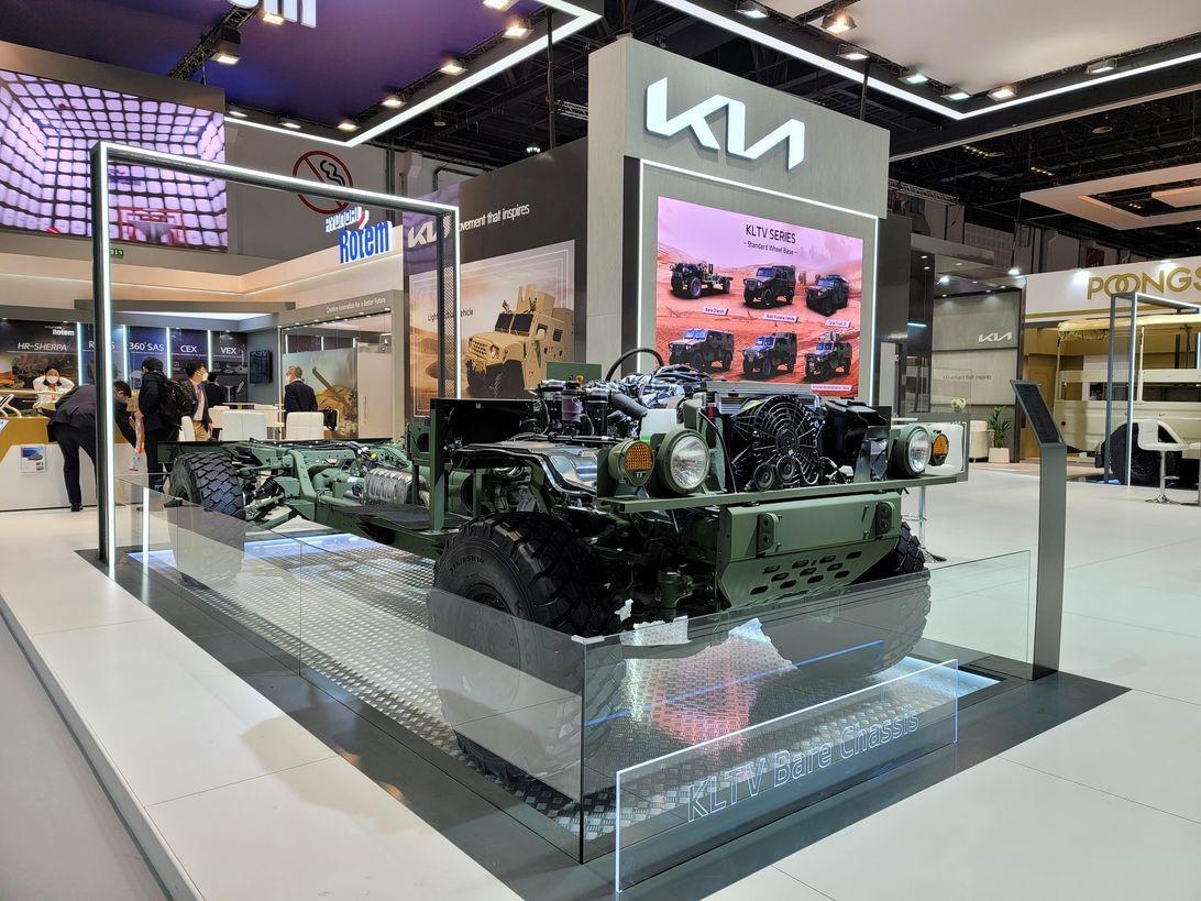 起亚军用卡车概念向全世界展示