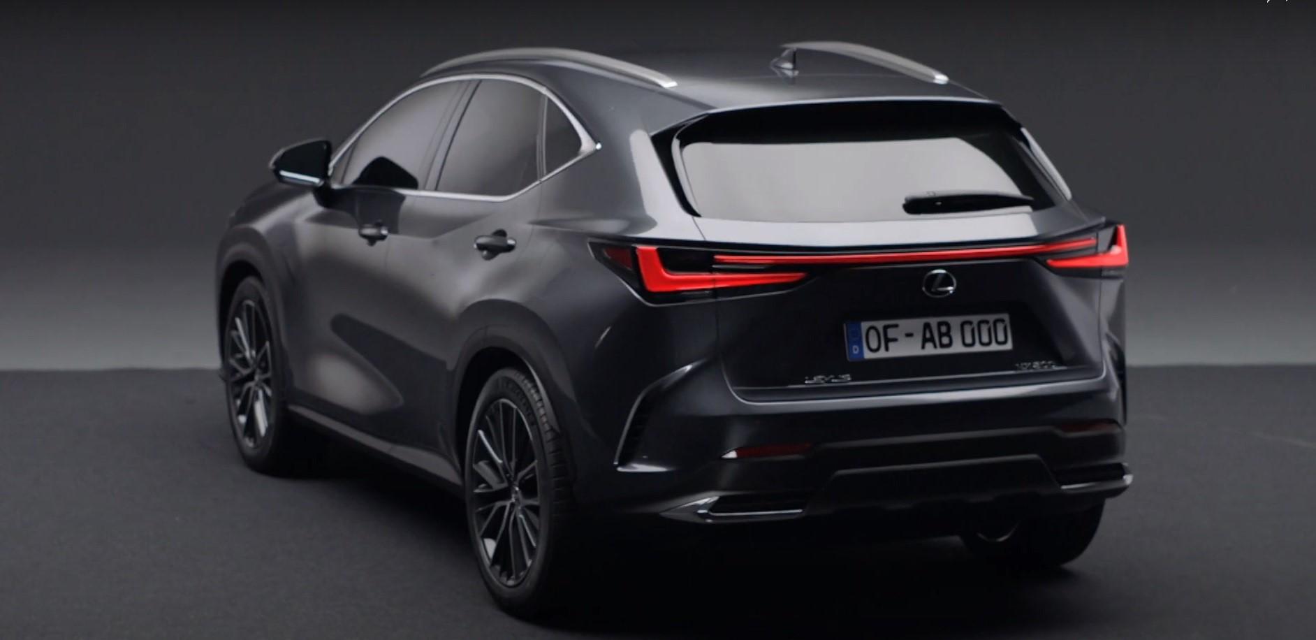 2022年雷克萨斯NX:全新紧密型高级SUV在线首图