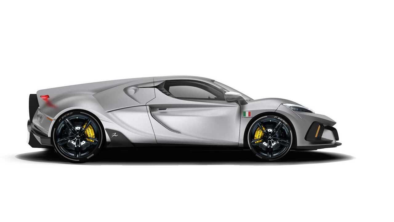 意大利汽车制造商FV Frangivento推出配备V10引擎和全轮驱动的超跑Sorpasso
