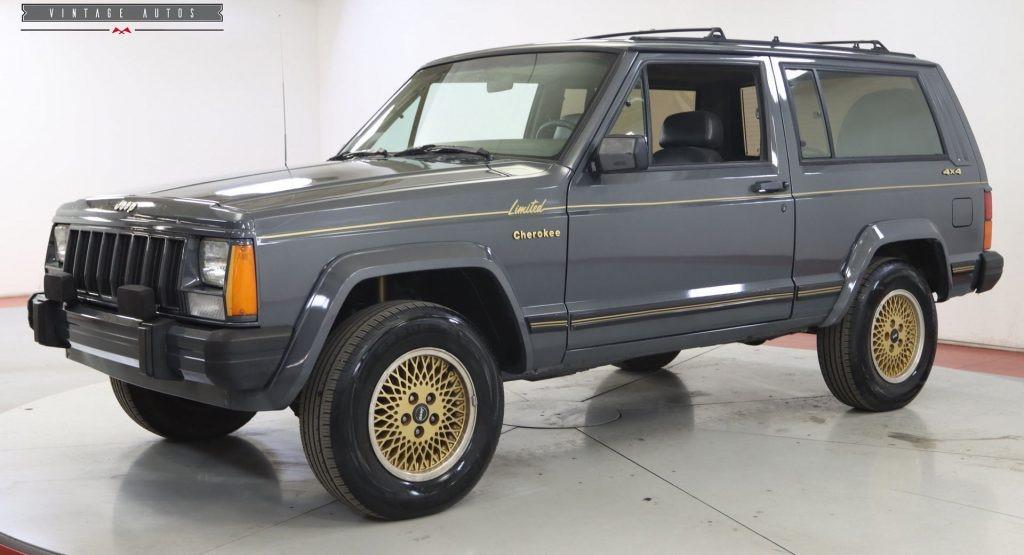 这款1988年吉普切诺基限量版两门车14,900美元物超所值