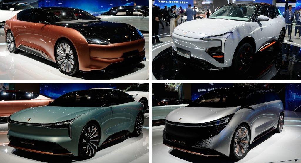 汽车常识:恒驰风暴在上海车展上展示了九款新车型