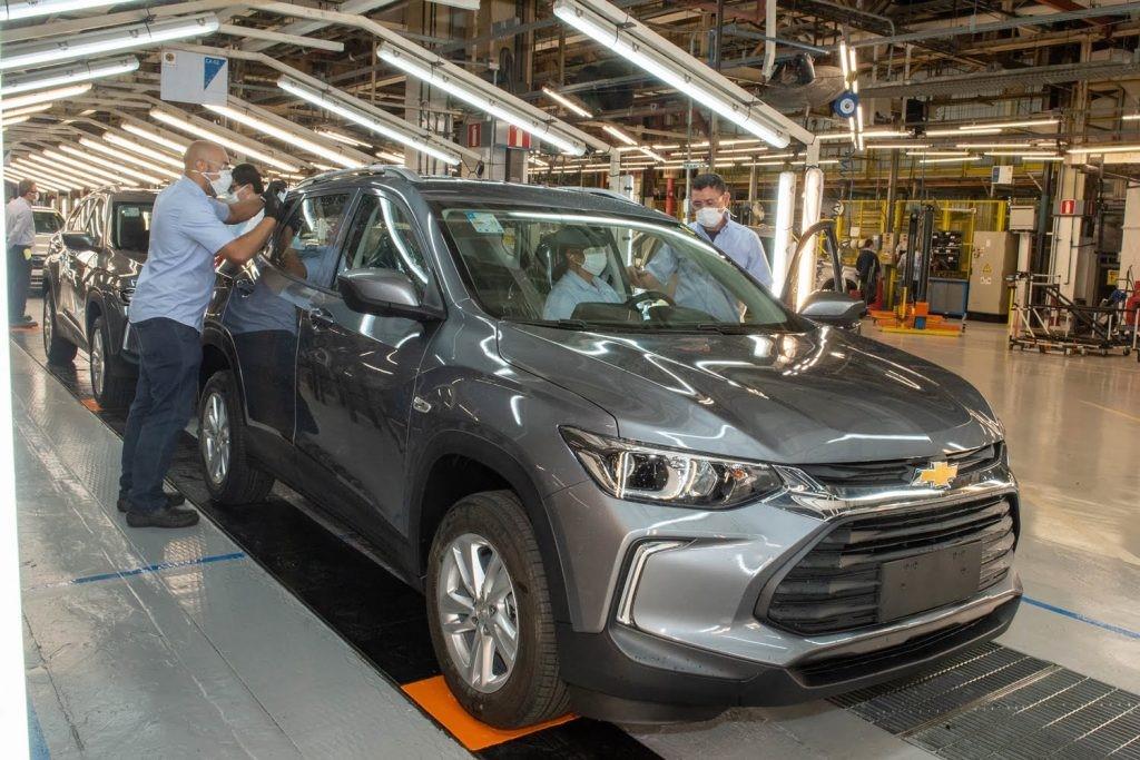 新款雪佛兰Tracker在巴西生产达到10万辆