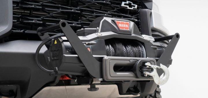 AEV推出2021+雪佛兰科罗拉多ZR2前置接收器