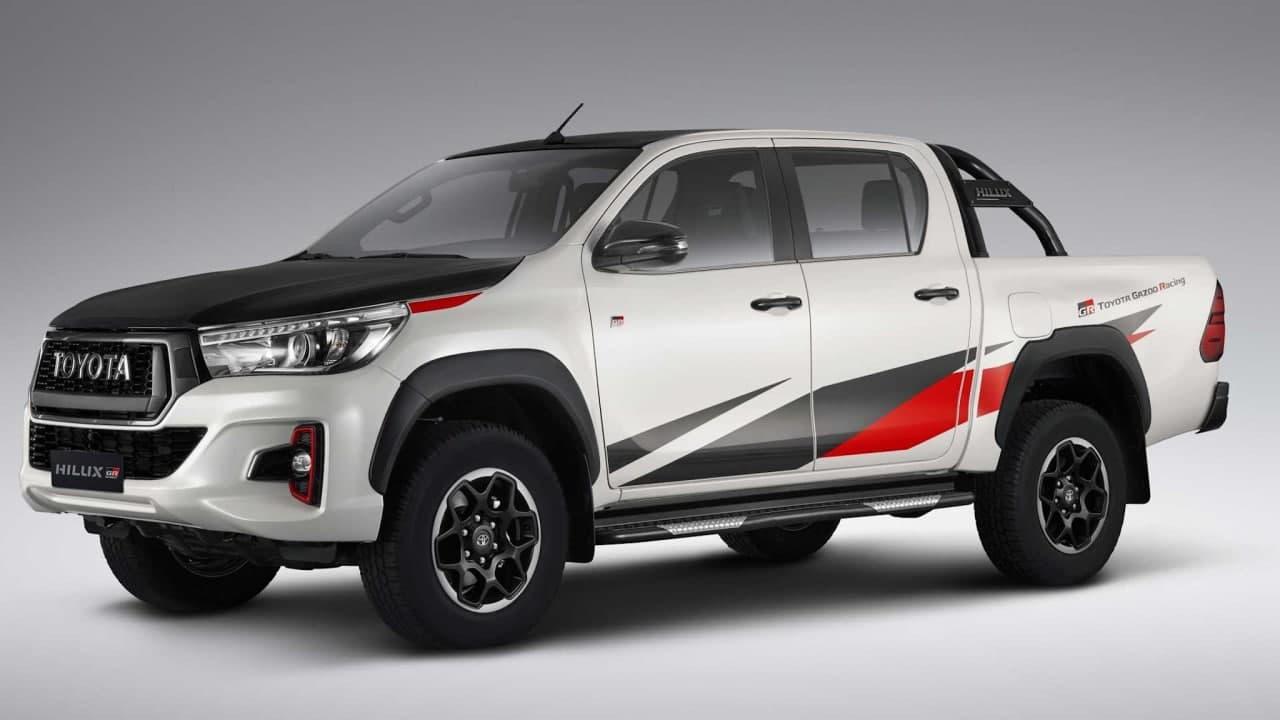 丰田HiLux  GR  Sport规格在2021年下半年发布前就泄露了