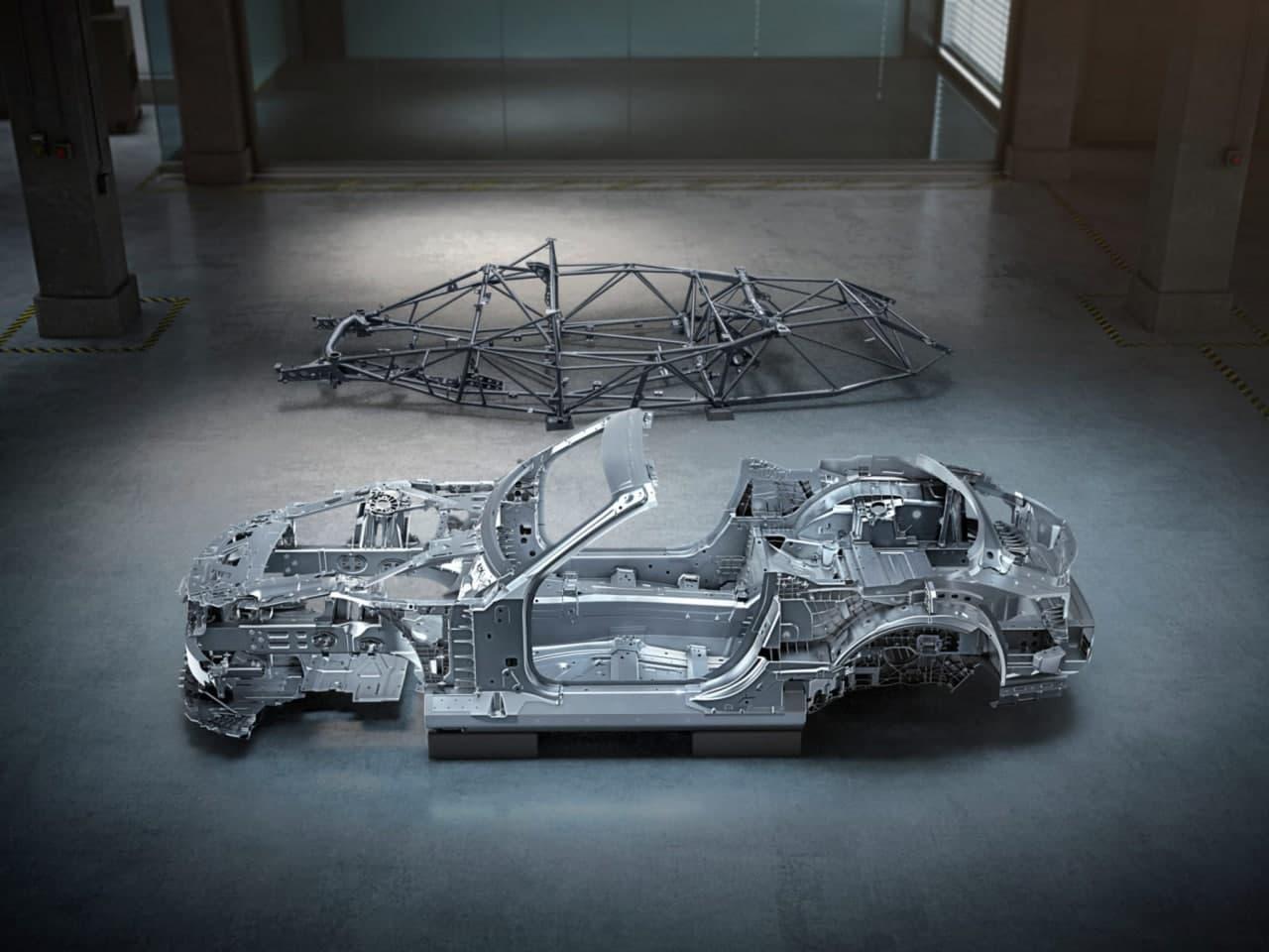 新款奔驰AMG  SL知道怎么裸体
