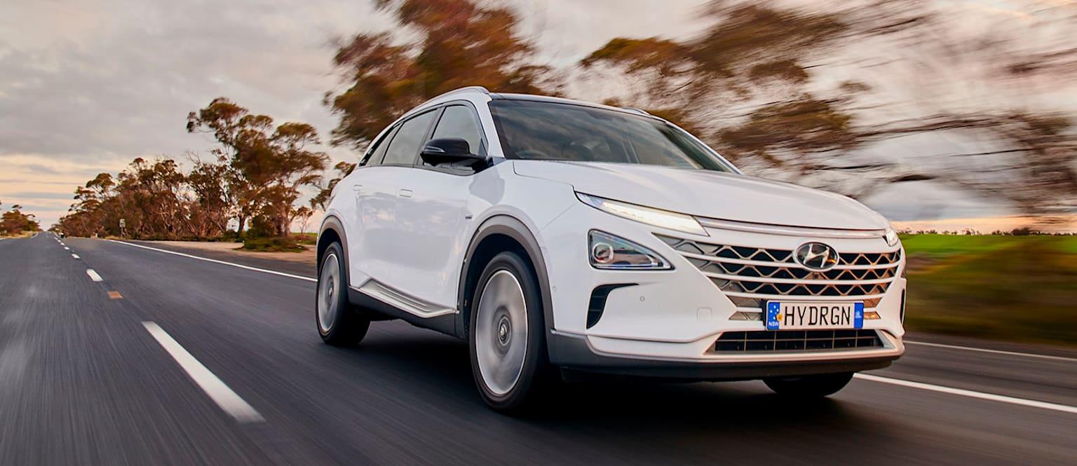 现代开发多款氢燃料电池汽车